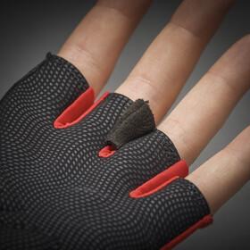 GripGrab Ride Lightweight Gevoerde Halve Vinger Handschoenen, red